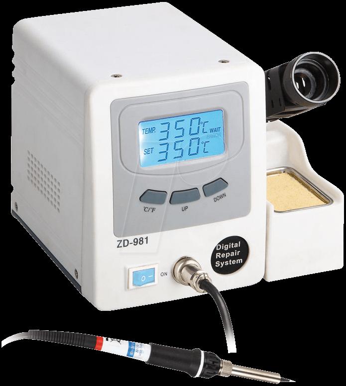 Паяльная станция ZD981 цифровая антистатическая
