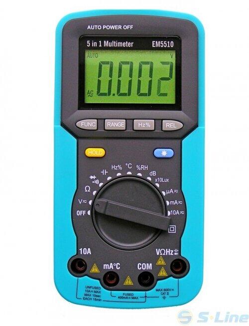 """Мультиметр EM-5510 """"5 в 1"""""""