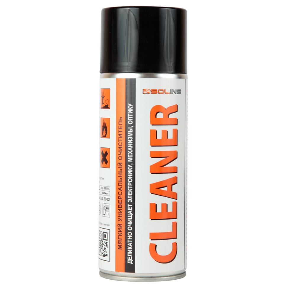 Аэрозоль CLEANER спиртовой очиститель 400мл