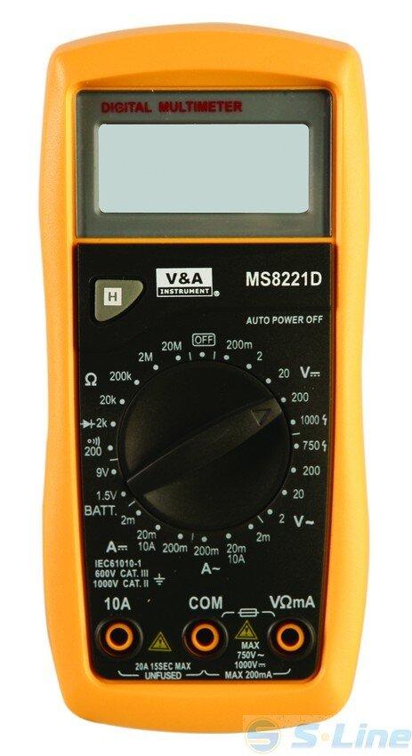 Мультиметр MS8221D
