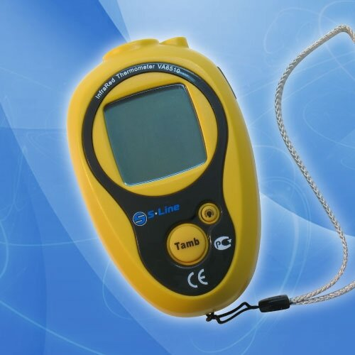 Термометр дистанционный цифровой инфракрасный (пирометр)VA6510
