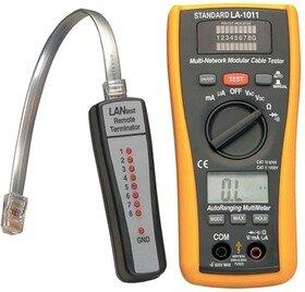 LA-1011 LAN кабель-тестер (напряжение, сопротивление, прозвонка)