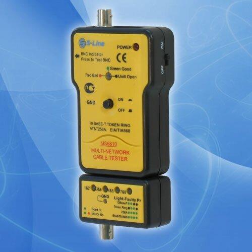 MS6810 тестер кабеля(замыкание,обрыв,идентиф.в многож.кабелях)