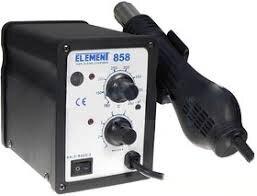 Паяльный фен ELEMENT 858 (аналоговый регулятор)