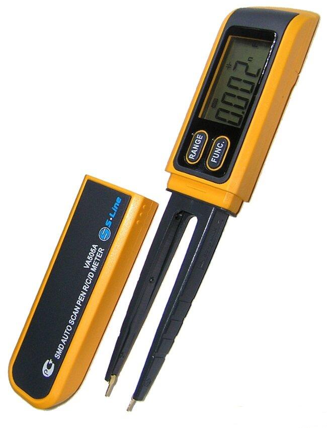 Мультиметр-пинцет VA505A (RC-метр для SMD)