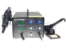 Паяльная станция LUKEY852D+ цифровая, антист. (с феном) для свинц. и б/свинц.