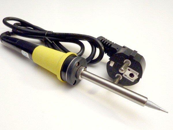 """Паяльник электрический ZD30CN 40W (керамический нагреватель)""""CE"""" с долговечным жалом"""