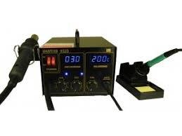Паяльная станция MASTERS 952D с феном компрессорная