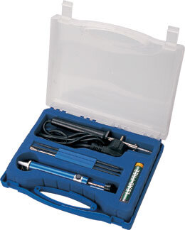 ZD-921F Набор инструментов в футляре с ручкой (пластик)