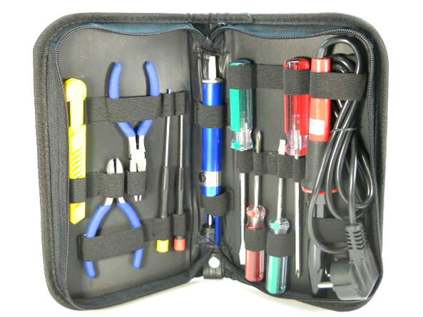 ZD-903 Набор инструментов в футляре на молнии