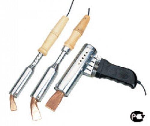 """Паяльник электрический ZD-TLW 200W (нихромовый нагреватель)""""CE"""" с деревянной ручкой с долговечным жалом"""