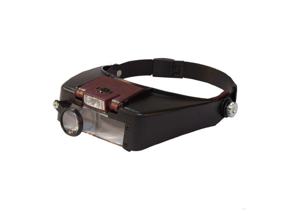 TK1011 Лупа с головным креплением и подсветкой (1.5х,3х,8.5х,10х)